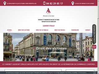 Votre avocat en droit des victimes à Montpellier