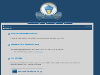 Services et support pour forums phpBB