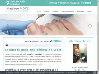 Votre podologue à Croix