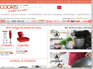 Cookshop, 300 marques cooking en ventes privées !