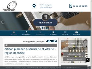 Artisan plomberie dans la région Rennaise
