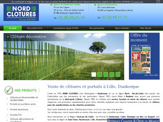 Portail alu Hauts-de-France