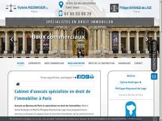 Votre avocat en droit des baux commerciaux à Paris