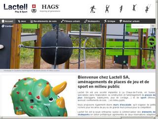 Construisez vos places de jeu avec Lactell SA
