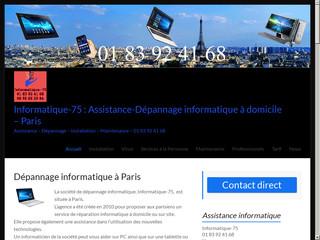 Réparation informatique à Paris à domicile