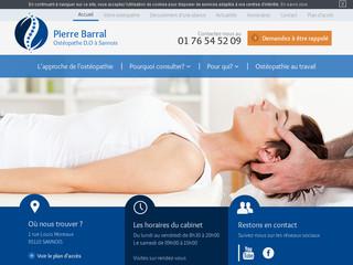 Ostéopathe Sannois | Cabinet ostéopathie P. Barral Argenteuil