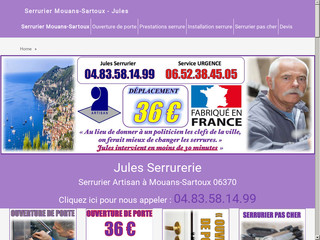 Jules Serrurier expert 24 heures sur 24