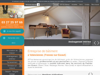 Entreprise de BTP Saint-Amand-les-Eaux | Maçonnerie, bois, aménagement Denain