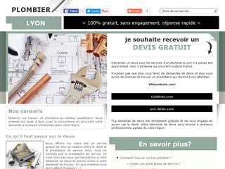 Devis de plomberie à Lyon