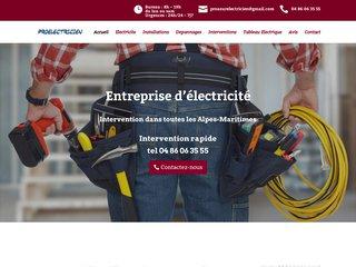 Entreprise d'électricité à Nice - Intervention rapide