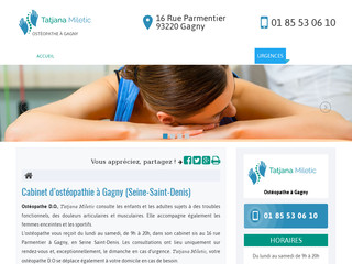Ostéopathe pour femme enceinte à Gagny