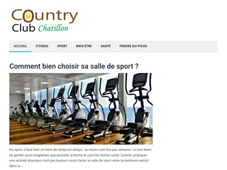 Country Club Chatillon, votre guide sur le fitness
