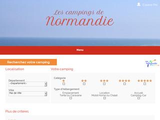 Camping en Normandie