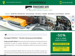 Garage automobile Renaissance Auto à Saint Omer