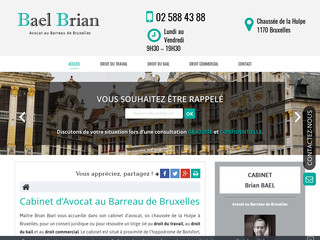Avocat en droit du travail à Bruxelles