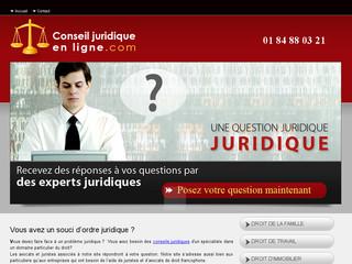 Conseillers juridiques en ligne : Conseils Juridiques