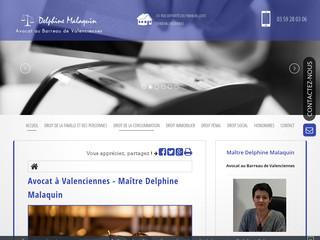 Avocat pénaliste Valenciennes, Maître Delphine Malaquin
