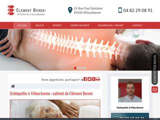 Ostéopathe pour sportif à Villeurbanne