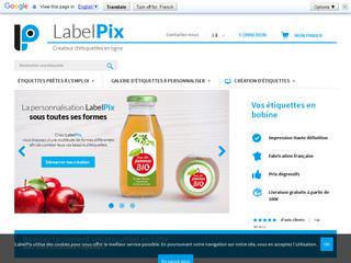 LabelPix pour l'impression de vos étiquettes