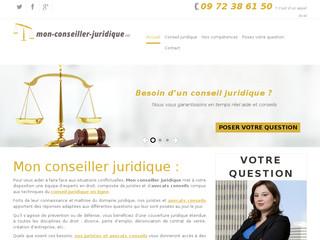 Mon Conseiller Juridique: Services juridiques en ligne