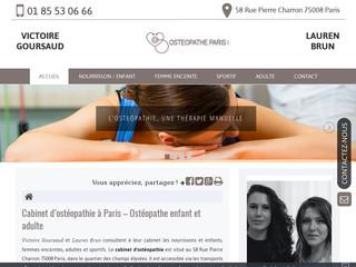 Ostéopathe du sport à Paris 8