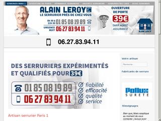 Serrurier Paris 1