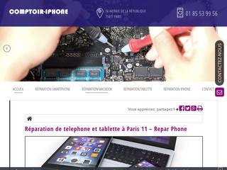Des interventions en réparation Smartphone à Paris
