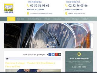 Réparation et remplacement de pare-brise dans le Loiret (45)