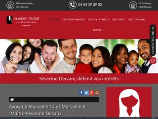 Avocat à Marseille 14, Maître Séverine Decaux