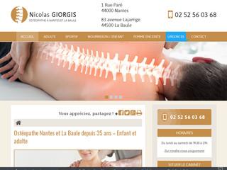 Ostéopathe pour nourrisson à Nantes