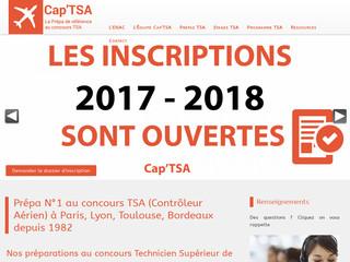 Cap'TSA : N°1 à la préparation au concours TSA