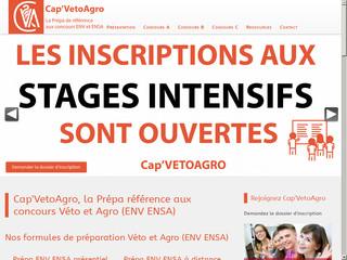 Cap'VetoAgro - prépa de référence aux concours ENV et ENSA