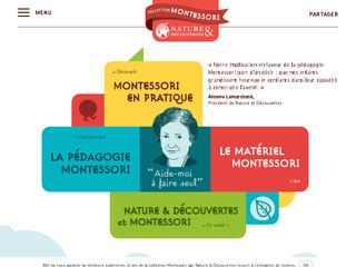 Nature & découvertes – jeux Montessori pour enfant