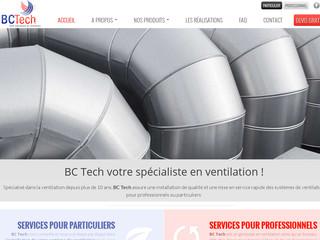 BC Tech: ventilation à Bruxelles et Namur