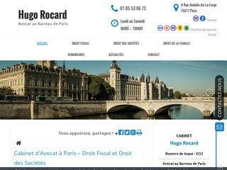 Avocat en droit fiscal à Paris