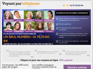 Consultations de voyance par téléphone
