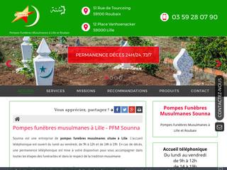 Pompes funèbres musulmanes à Roubaix