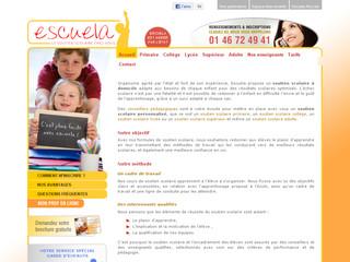 Escuela, spécialiste du soutien scolaire
