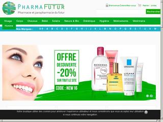 Pharmafutur, votre parapharmacie en ligne