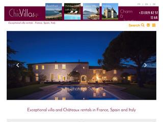 Location villas luxueuses en France