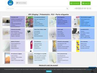 VPC Display – Votre allié display et de la PLV