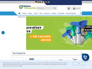 Airless Discounter France