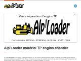 Alp'Loader matériel TP engins chantier