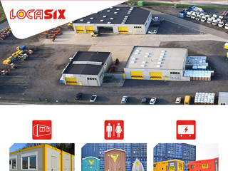 Locasix: le spécialiste de la location de conteneur de bureau en Belgique