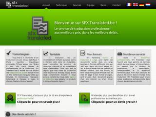 Pour vos traductions professionnelles, optez SFX Translated