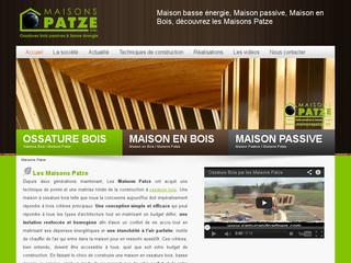 Maisons Patze: entreprise de construction de maison en bois