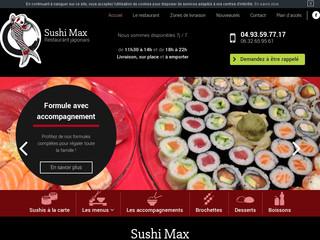 Livraison sushi Vence