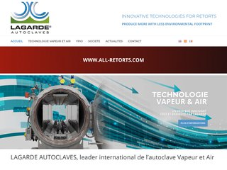 Lagarde Autoclaves, leader mondial et spécialiste du traitement thermique en autoclave
