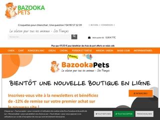 Animalerie BazookaPets
