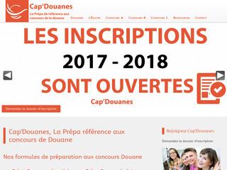 Cap'Douanes : N°1 à la prépa aux différents concours de la douane !